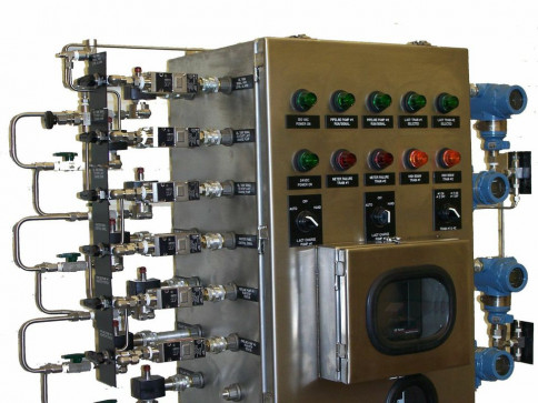 PLC CONTROLLED LACT PANEL